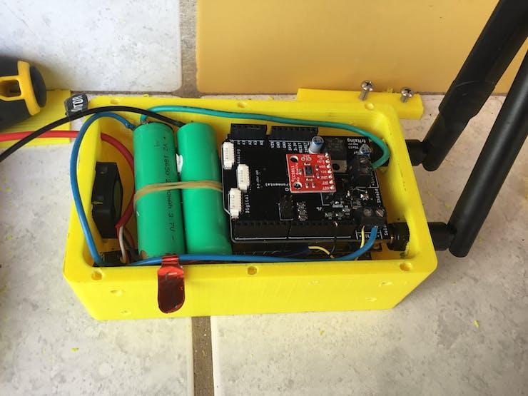 Wiring setup Diagram Below