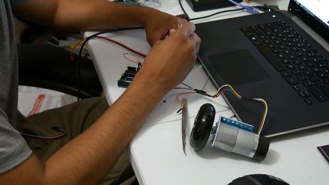 Initial testing of motor