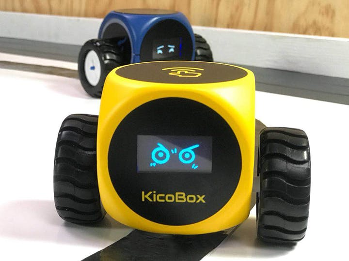 KicoBox  A Rubik s Cube-Like Robot to Teach Coding - Hackster.io 61ac8adf6
