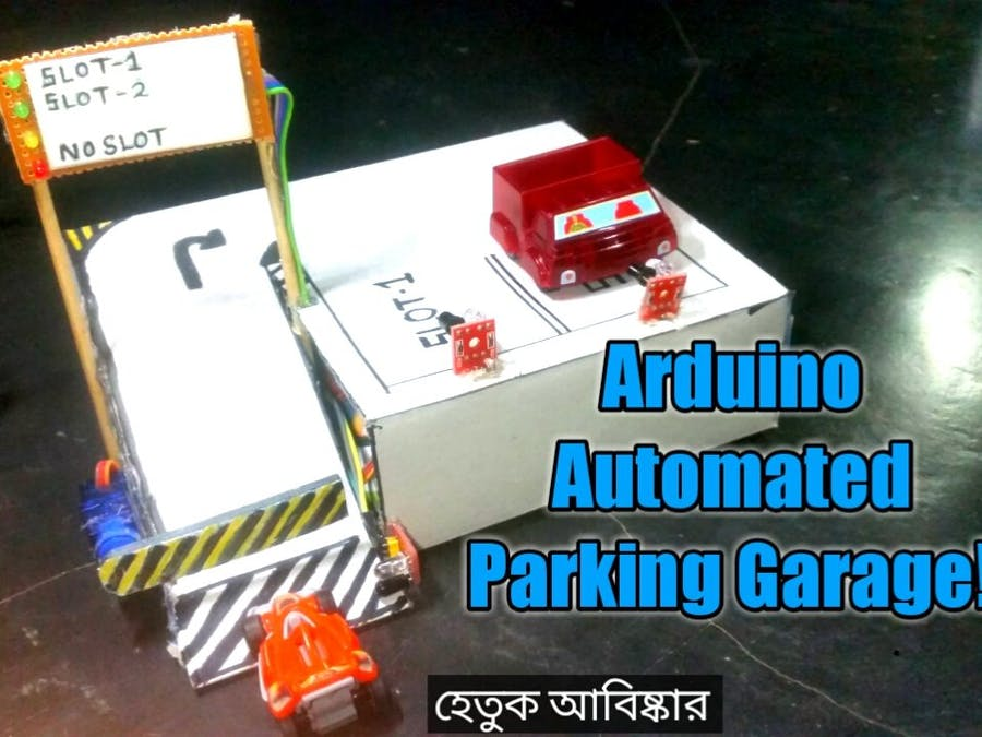 Arduino Automated Parking Garage