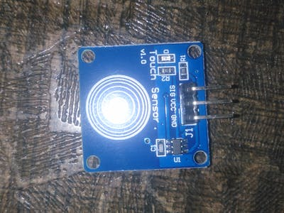 Touch Sensor and Sound Sensor Controlling AC/DC Lights