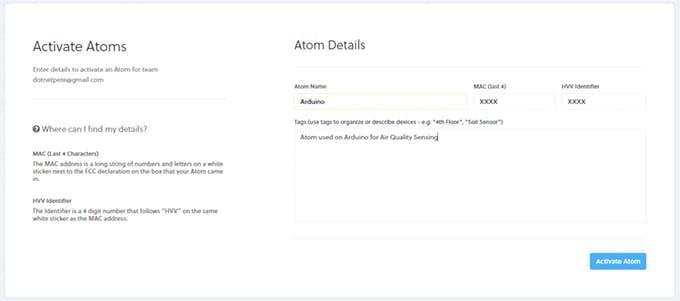 Activating Atom on Helium