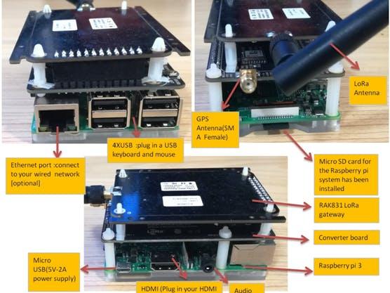 RAK831 Raspberry Pi3 Gateway and RAK811 LoRaNode User Manual