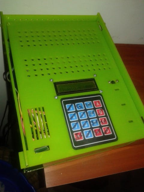 Final Control Box - Engineer type Design