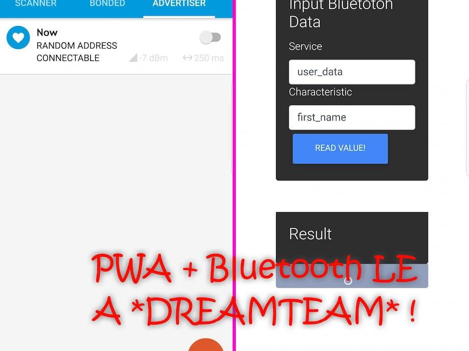 Offline-PWA with Bluetooth LE Capabilities - Hackster io