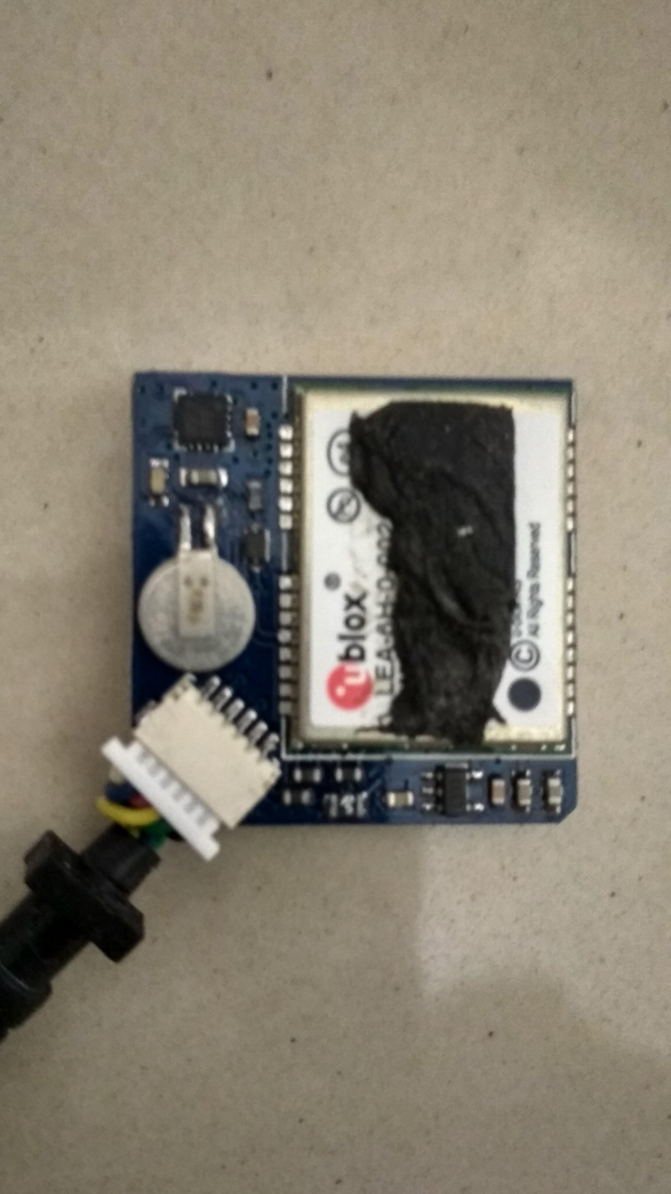 u-blox LEA-6H 02 GPS Module with Arduino and Python