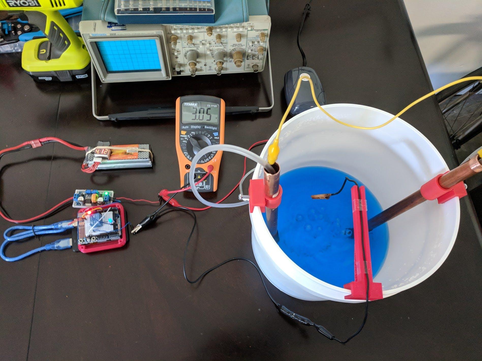 Electroplating system