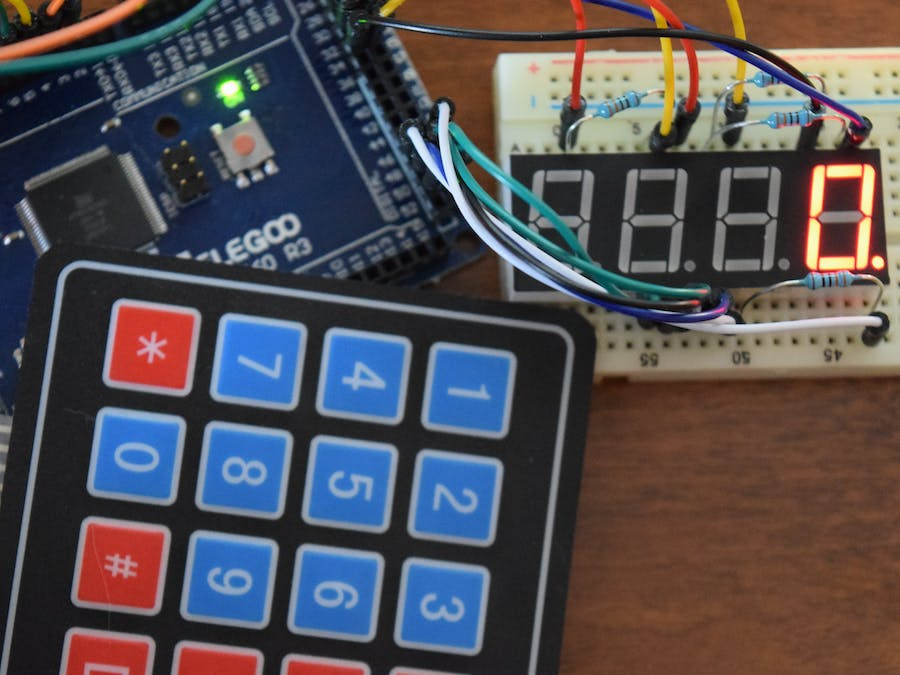 Control 7-Segment with Keypad and Arduino - Hackster io