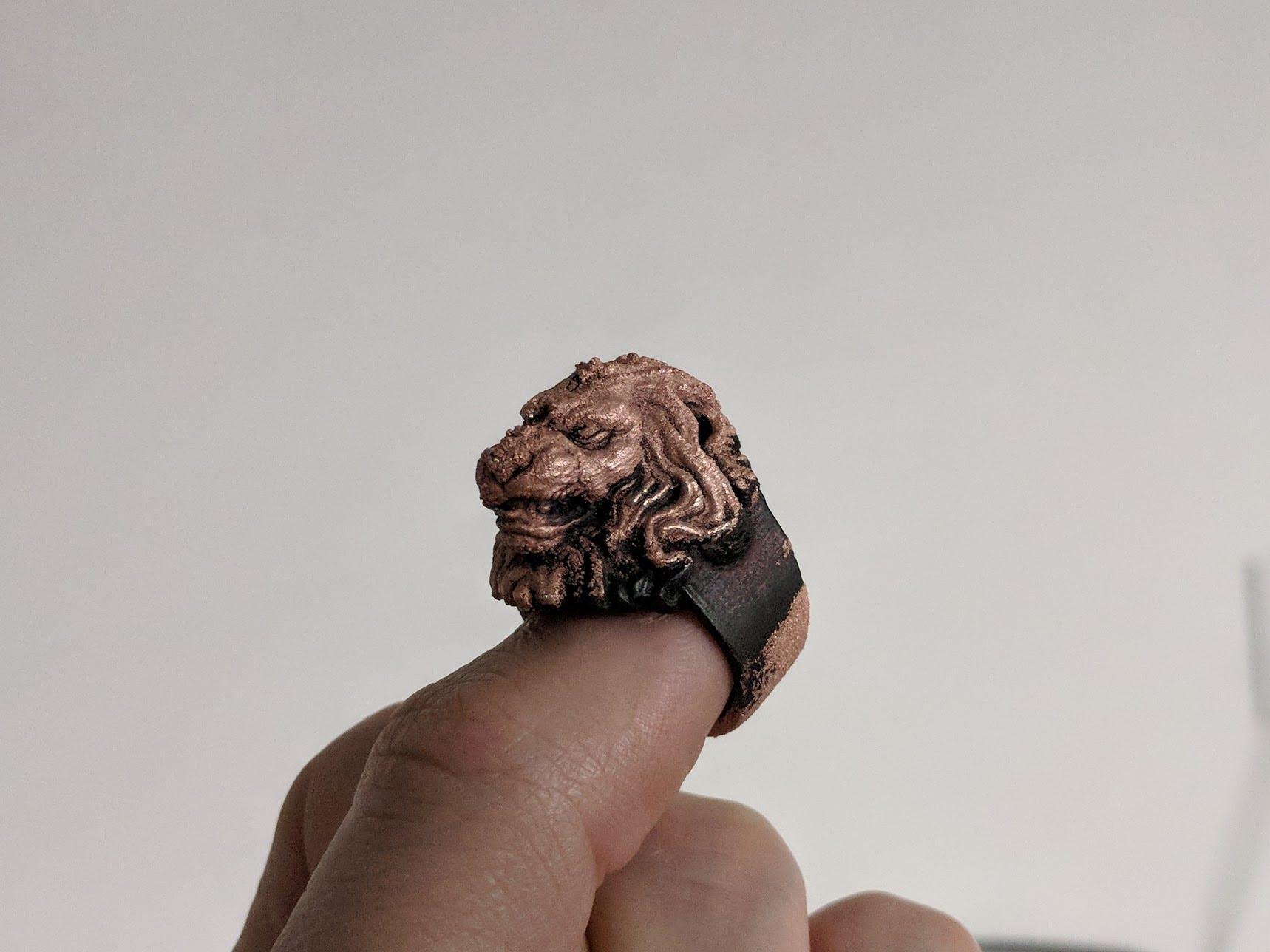 3D-printed ring