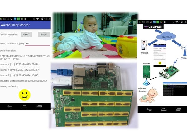 Baby Monitor with Walabot - Hackster io