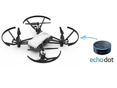 Alexa Voice Controlled Tello Drone
