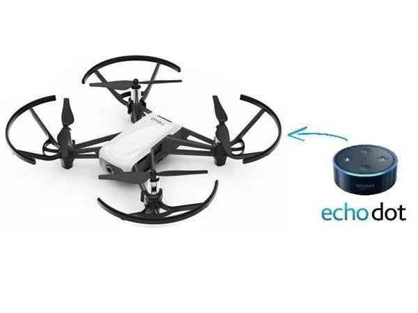 Alexa Voice Controlled Tello Drone - Hackster io