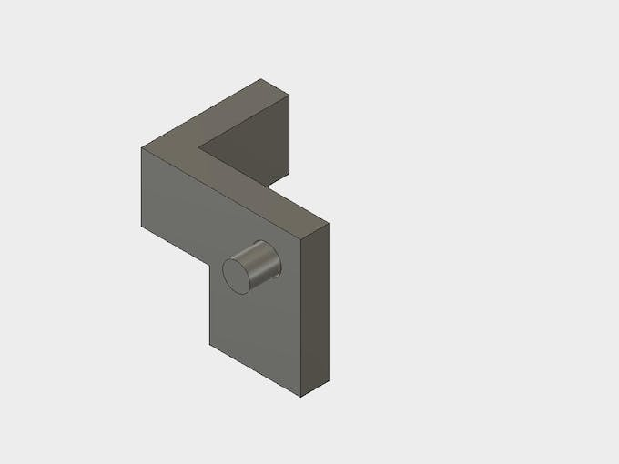Start by assembling the pin into the inner part