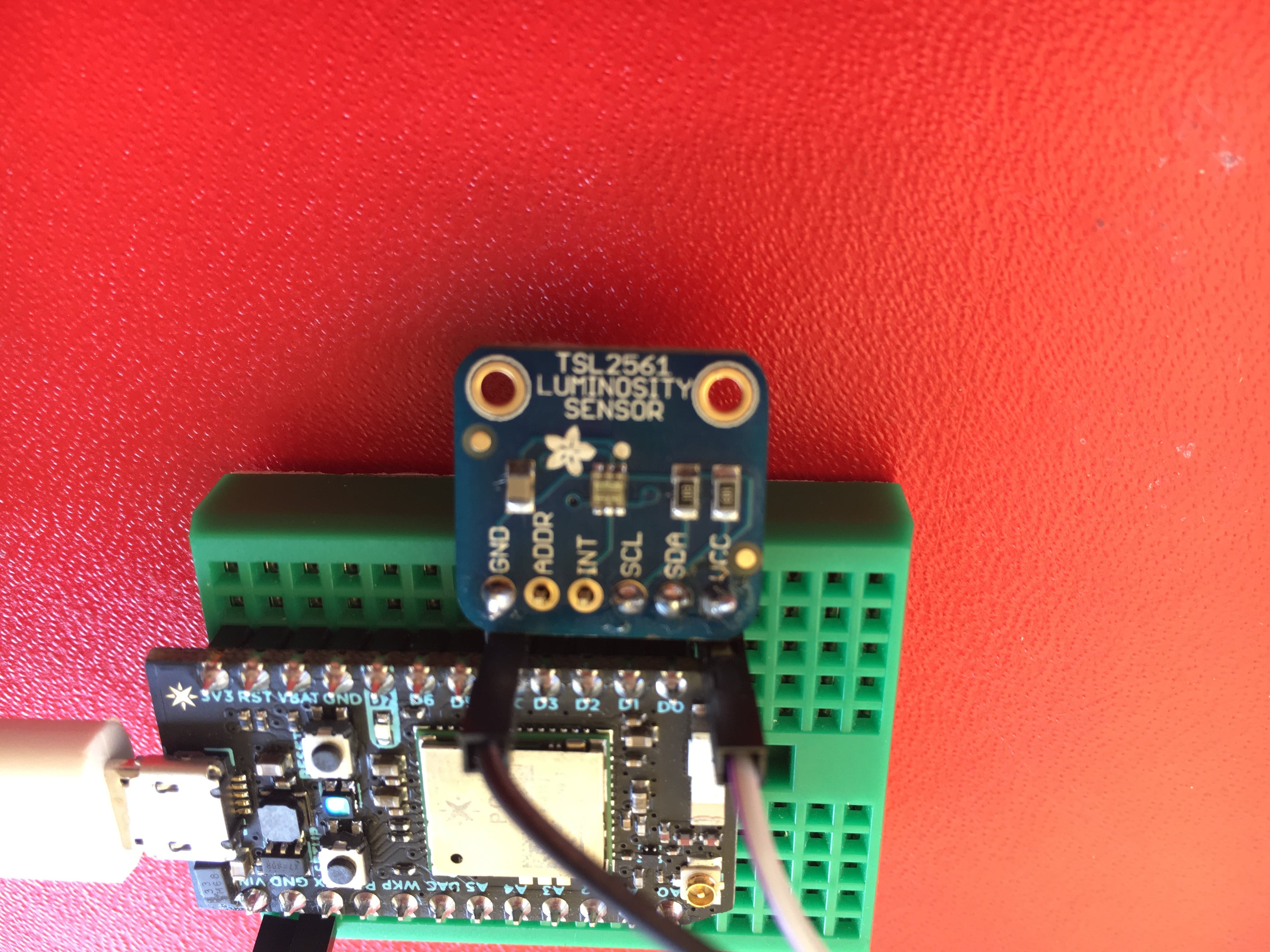 digital sensor TSL2561