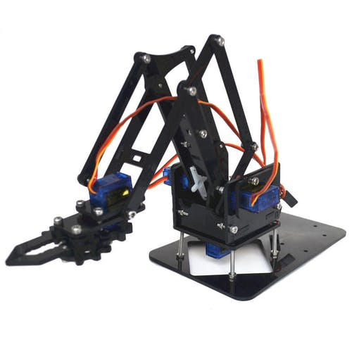 Promo image of the robot arm