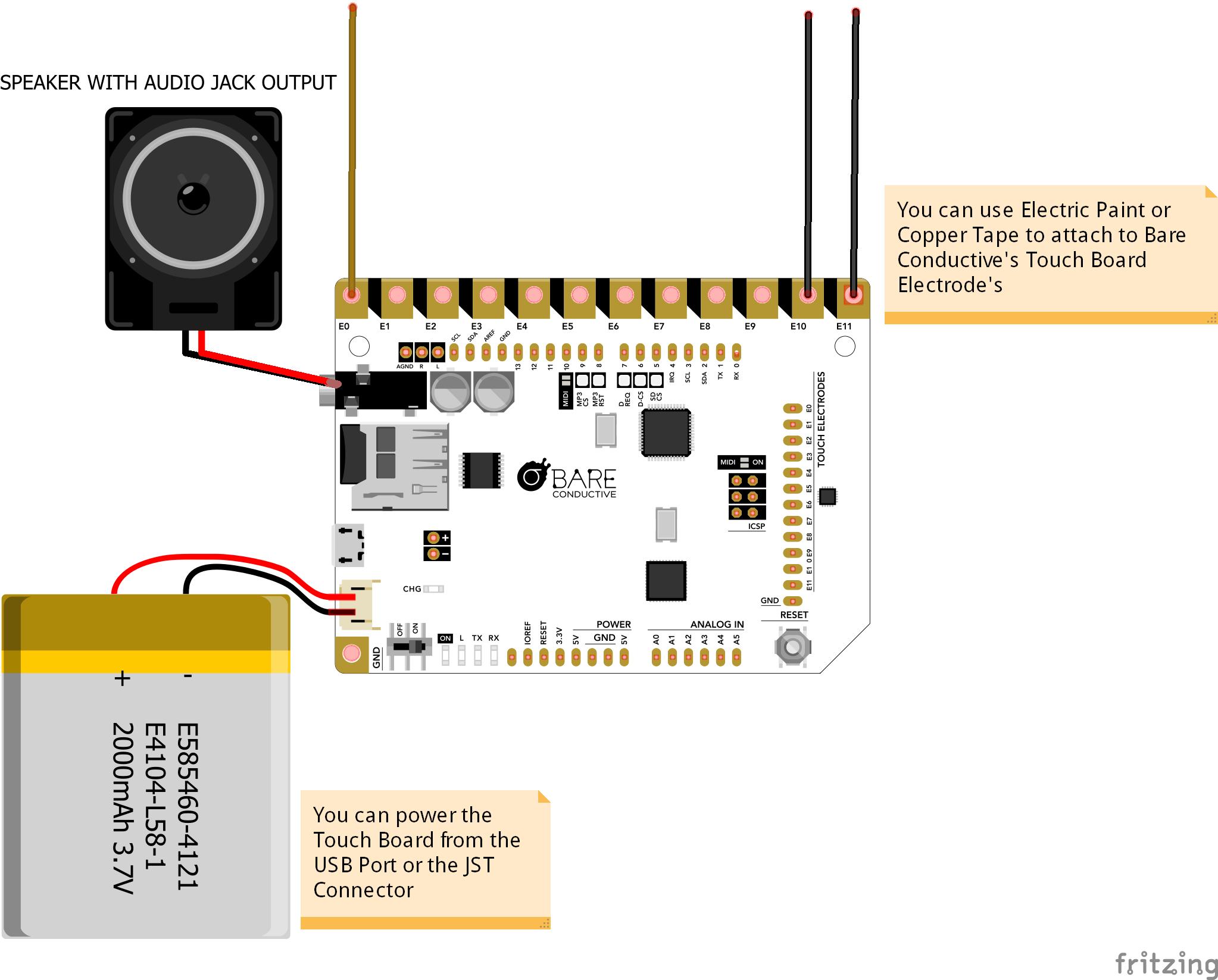 Bareconductive lego wall bb j2qjbmi4ur