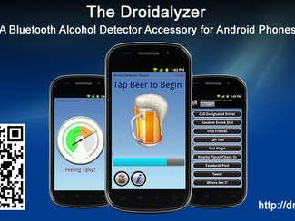 The Droidalyzer - Alcohol detector accessory for Android