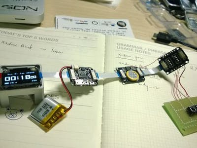The not so smart Xadow smartwatch