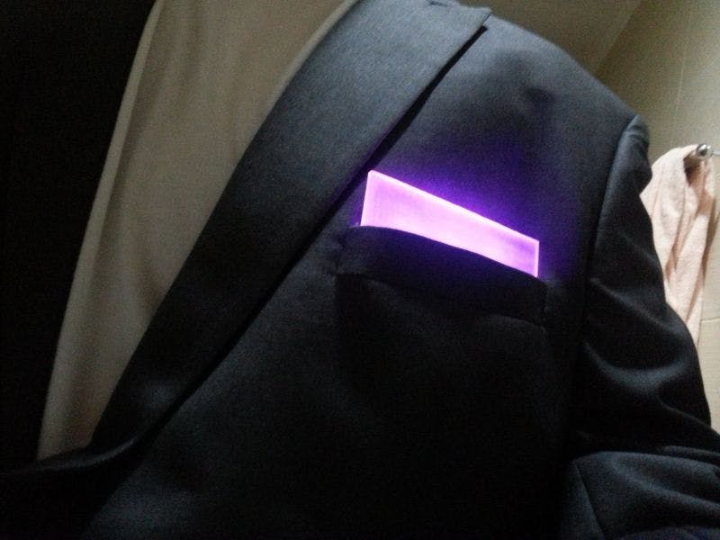 RGB Pocket Square Bluetooth