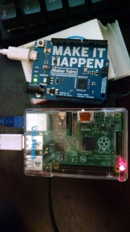 Basic Pi <-> Arduino Communication over USB