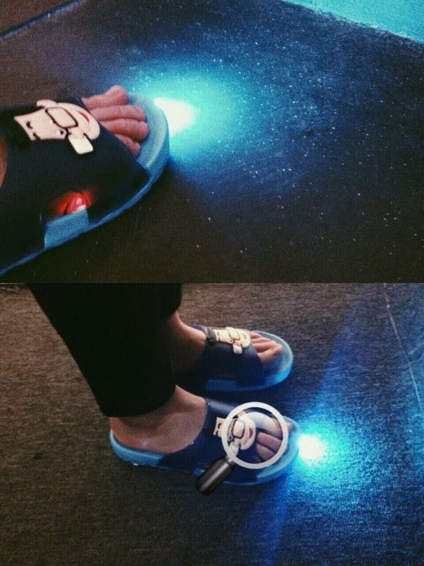 Lighting Slippers
