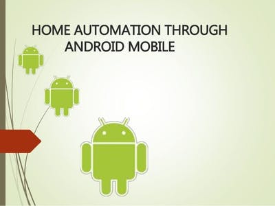 Home automation using arduino and android