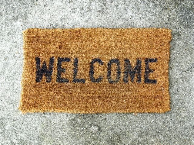 Texting Doormat with the Intel Edison