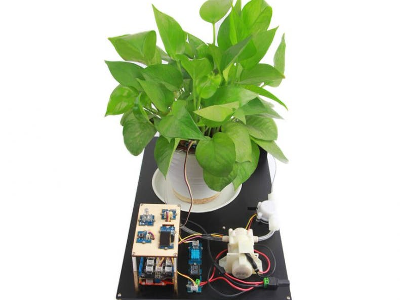 DIY : A smart planting system by Arduino