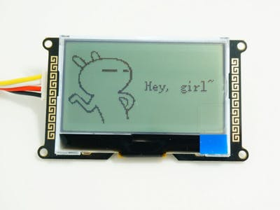 Display Picture Or Icon On I2C_LCD