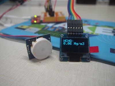 A Handheld Formaldehyde(HCHO) Detector