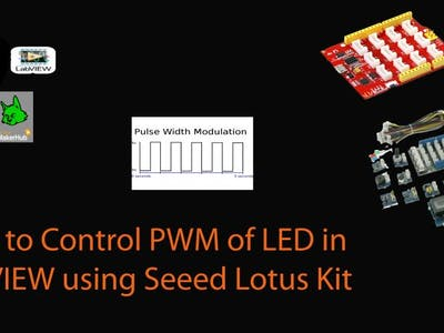 How to use PWM in LabVIEW