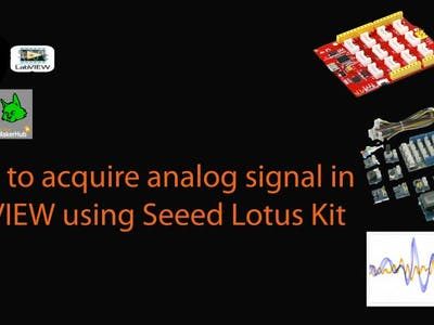 How to read analog signal in LabVIEW