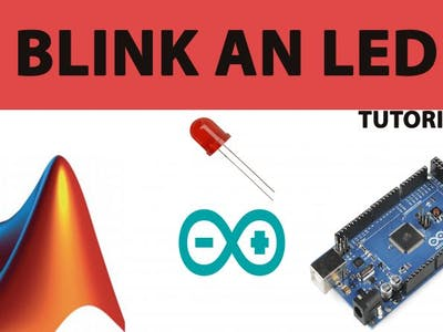 Blink an LED using Arduino and Matlab Simulink