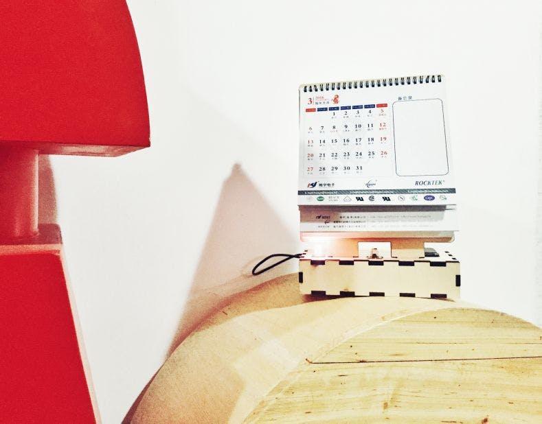 Wechat voice message transmission calendar
