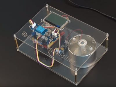 DIY a Simple Automatic Humidifier