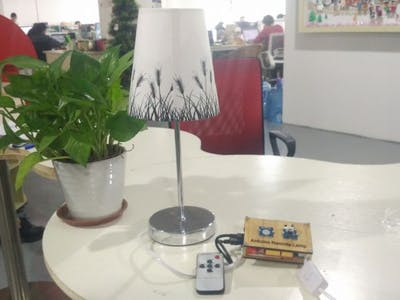 Make a Remote Infrared Controlled Lamp