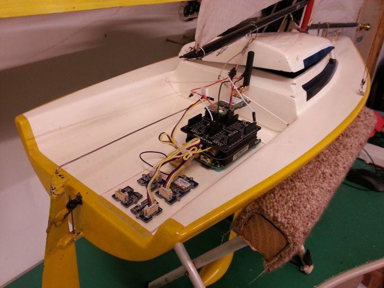 Plug 'n Play Remote Control Sailboat