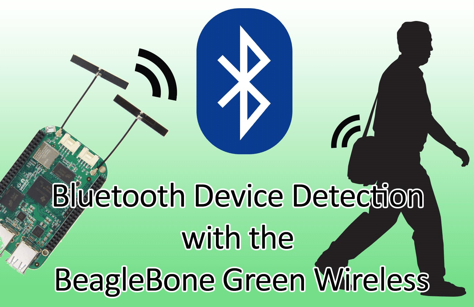 Bluetooth Device Detection with BeagleBone Green Wireless
