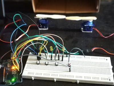 Password-Protected, Arduino-Controlled Servo Gate