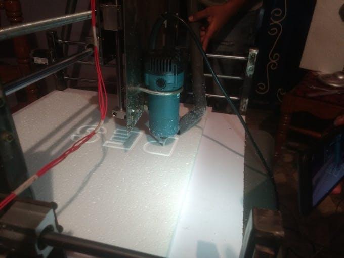 CNC Working