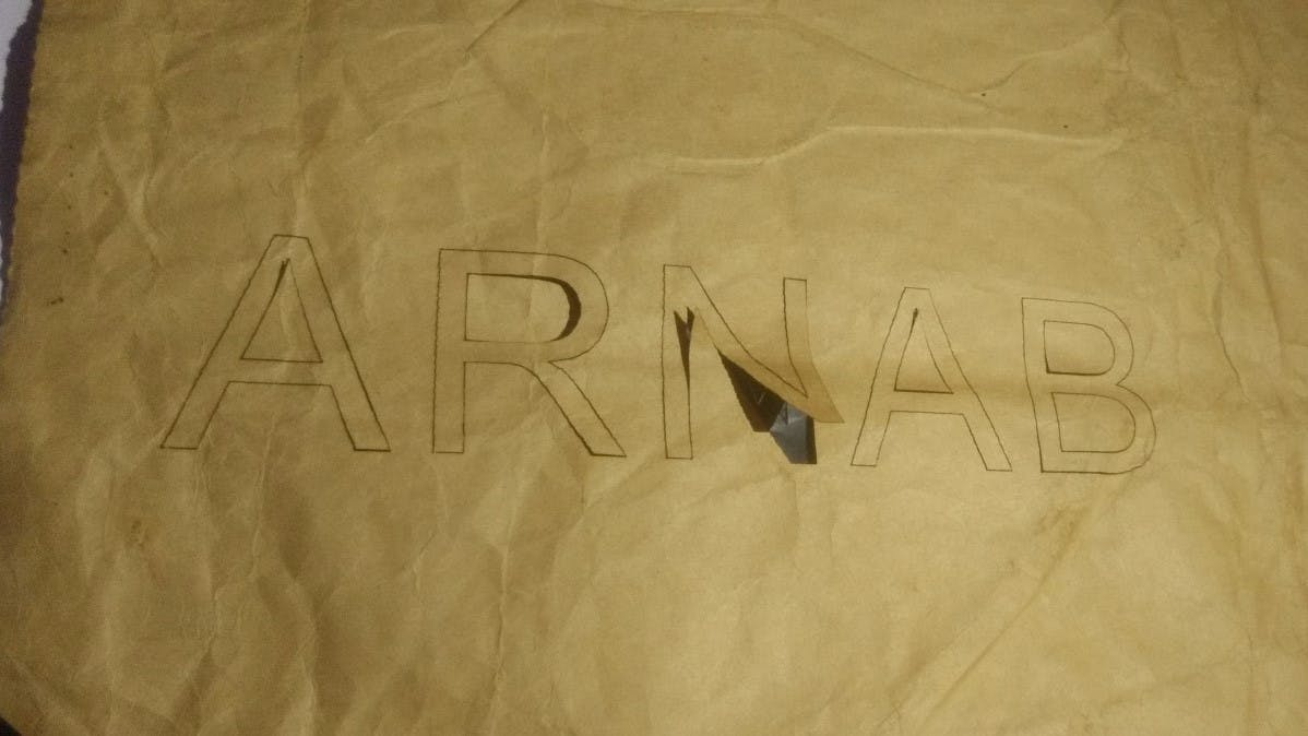 Paper Laser Cutting