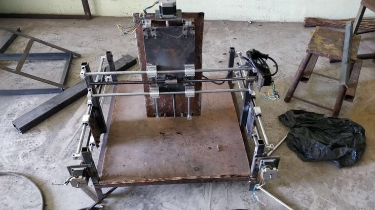 2-in-1 CNC Router Machine with Laser Engraver - Hackster io