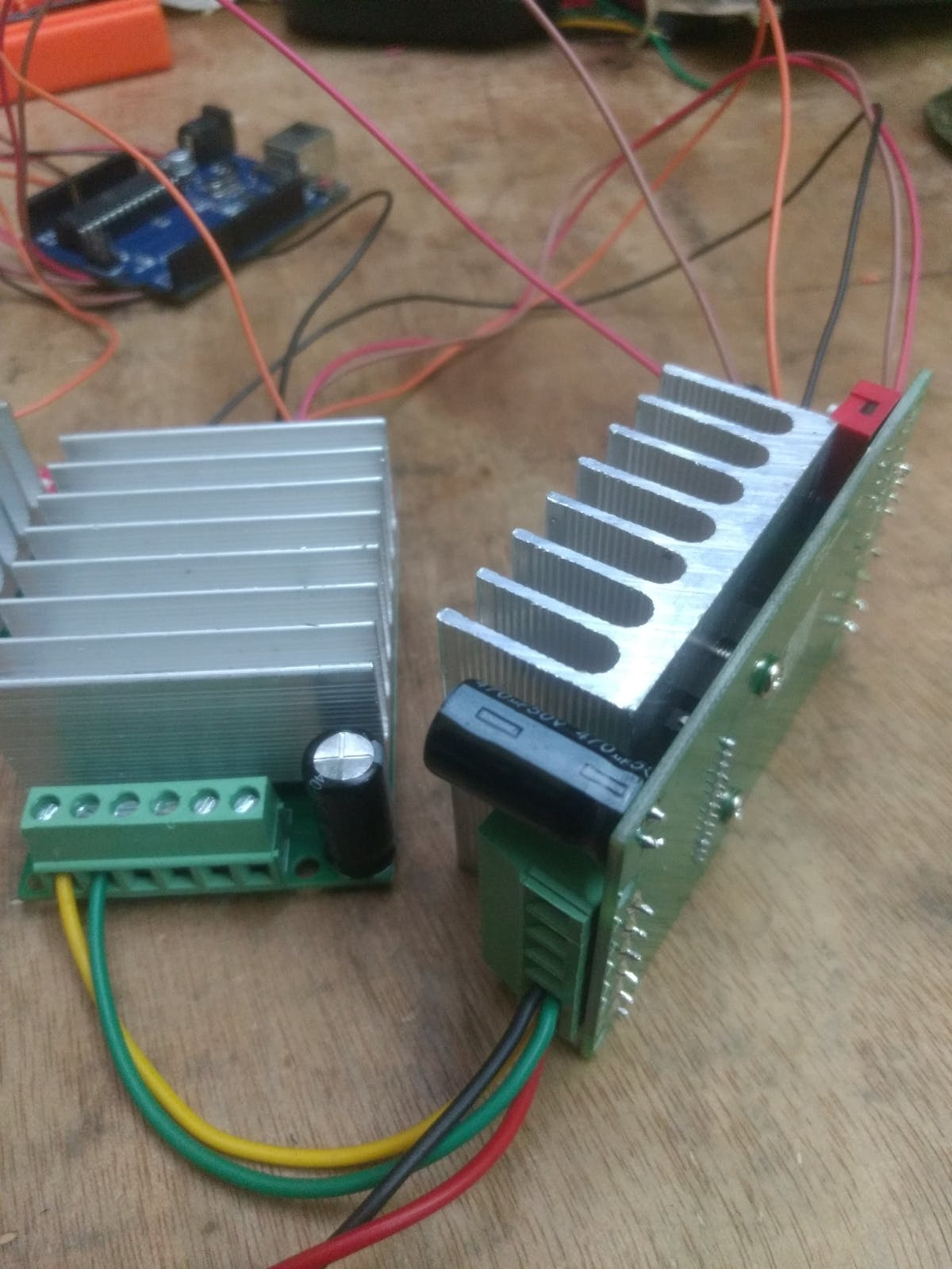 Stepper Driver Connection