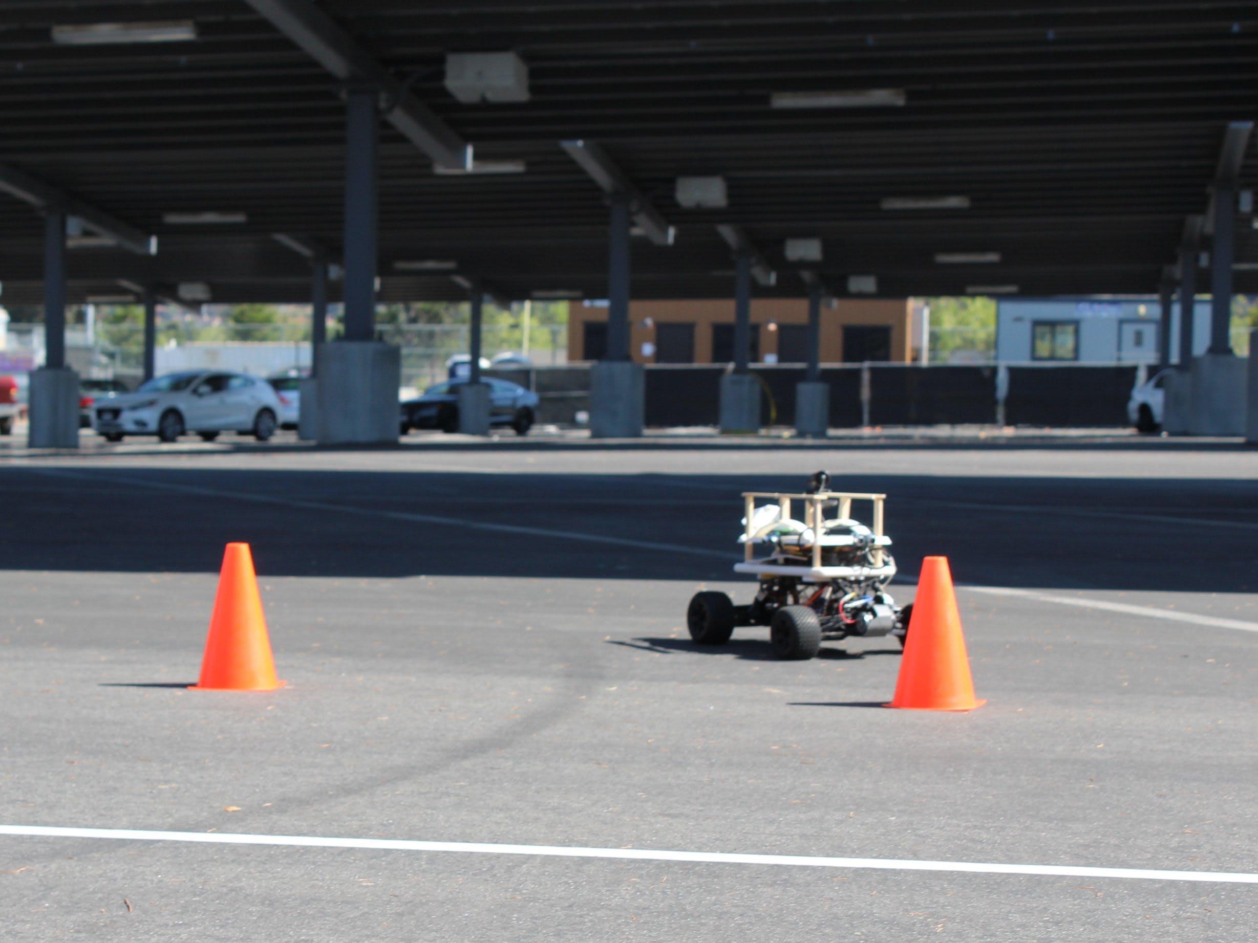 El Toro Grande: Self-Driving Car Using Machine Learning