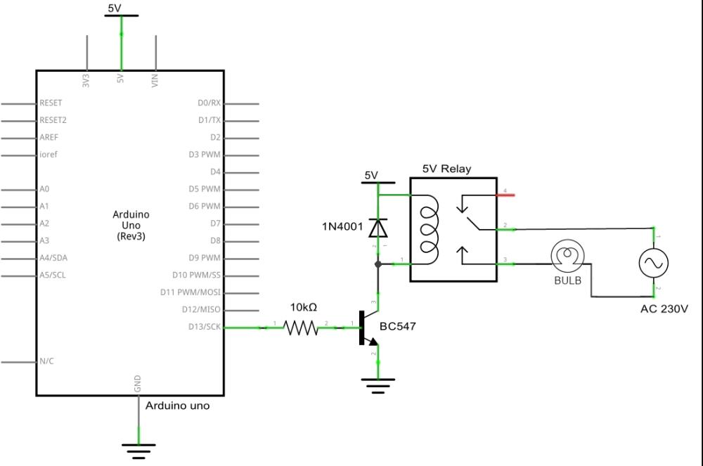 Control AC Light Using Arduino - Hackster.io