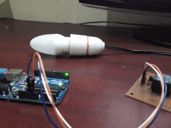Control AC Light Using Arduino