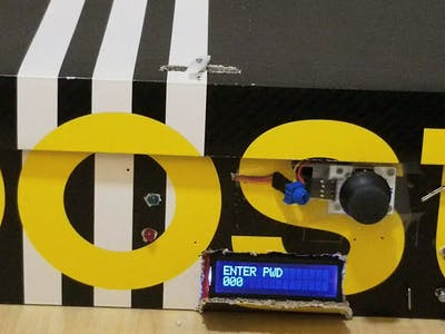 An Arduino-Based DIY Safe