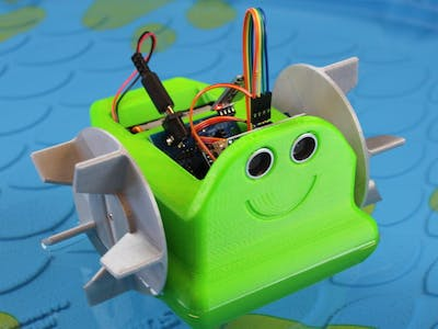 Waterbot: Arduino Robot Boat: