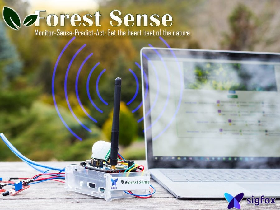Forest Sense: Get the Heartbeat of the Forest - Hackster io