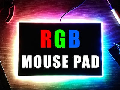 RGB Mouse Pad